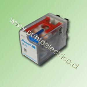 RELE 2 CONTACTOS CONMUTABLES. BOBINA DE 24VDC. 5mm