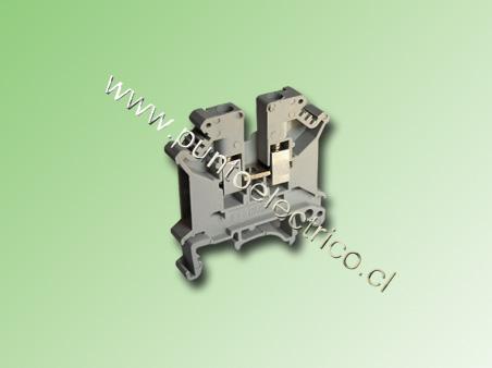 BORNE DE CONEXION 2.5mm2 COLOR GRIS