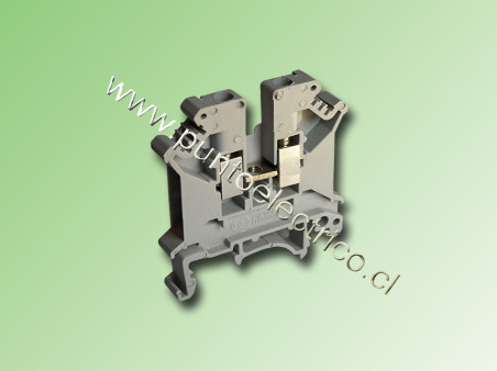 BORNE DE CONEXION 4.0mm2 COLOR GRIS