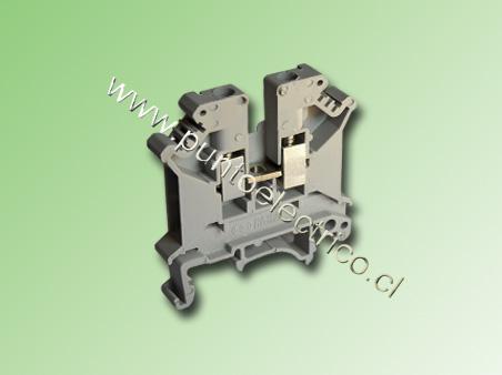BORNE DE CONEXION 6.0mm2 COLOR GRIS