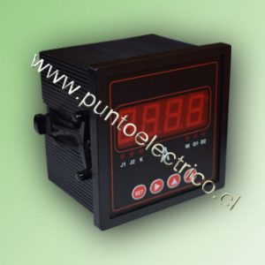 AMPERMETRO DIGITAL 1 FASE 5 Amp. 72x72 mm