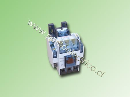 CONTACTOR TRIPOLAR DACO 32 Amp. BOBINA 240VAC 2NA+2NC