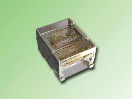 REPARTIDOR 4P. 125 AMP. 7 PUNTOS (2 ENTRADAS, 5 SALIDAS)
