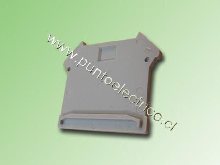 TAPA FINAL PARA BORNES DE 2,5 - 4 - 6 y 16mm2