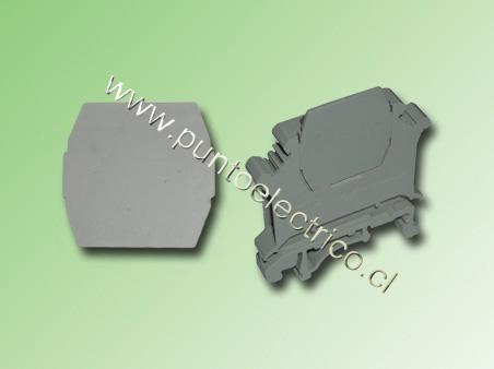 TAPA FINAL PARA PUENTES DE BORNES DE 2,5 - 4 - 6 y 16mm2