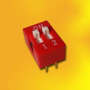 DIP SWITCH 2 POLOS