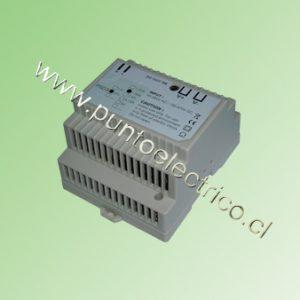 FUENTE DE PODER A RIEL DIN, ENTRADA 85/264VAC SALIDA 24VDC 1,88Amp.