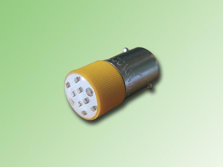 LED BA9S COLOR AMARILLO 24 VAC/DC