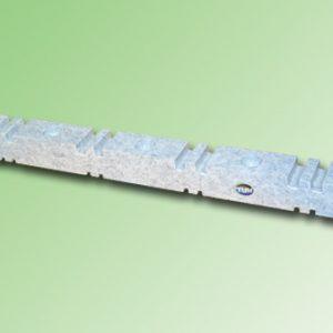 SOPORTE PEINE 4 P. 2 x 10mm O 4 P. DE 2 x 5mm ESPESOR COLOR BLANCO