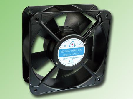 VENTILADOR METALICO 180x180x60mm 230VAC 450m3/H