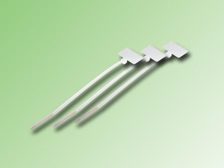 AMARRAS PLASTICAS CON BANDEROLA 100 x 2,5mm
