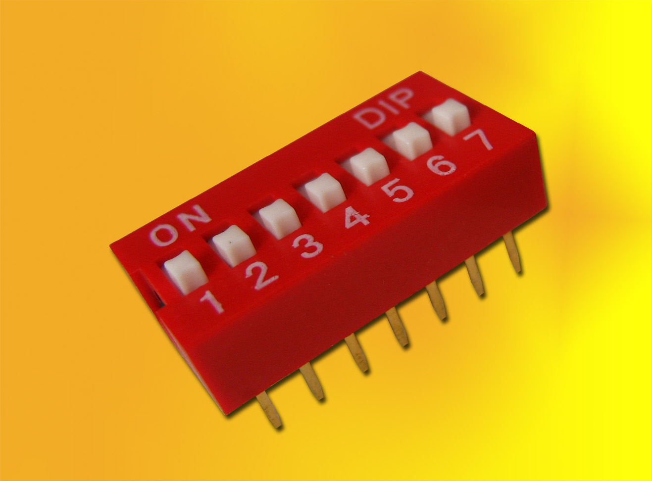 DIP SWITCH 7 POLOS