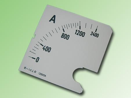 ESCALA AMPERMETRO 0-1200Amp.AC 96x96mm