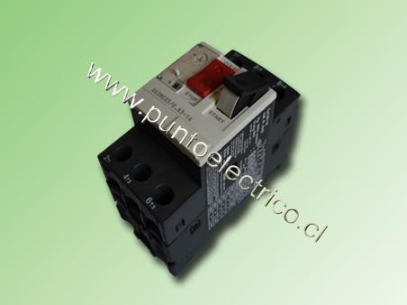 GUARDA MOTOR TRIFASICO REG. 0.63-1.0AMP.
