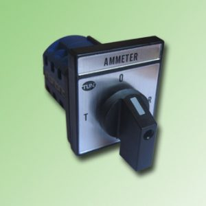 SELECTOR AMPERMETRO 3FASES 4 HILOS 20Amp.