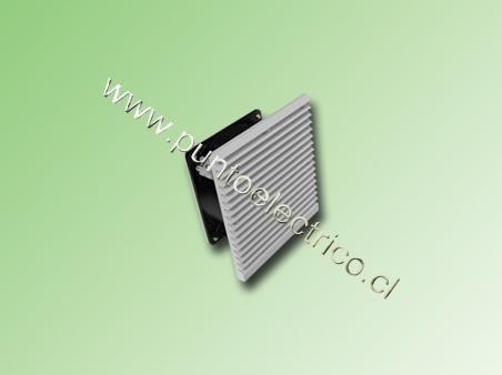 CONJUNTO DE VENTILACION 220VAC 148x148mm 43m3/h