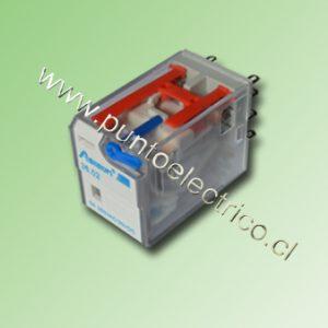 RELE DE 2 CONTACTOS CONMUTABLES. BOBINA 24VDC. 2mm