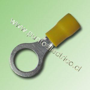 TERMINAL ANILLO 12/10 AWG COLOR AMARILLO PERF. 10.3mm