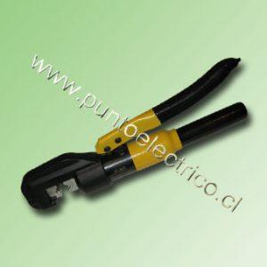 PRENSA TERMINALES HIDRAULICO 4 a 70mm