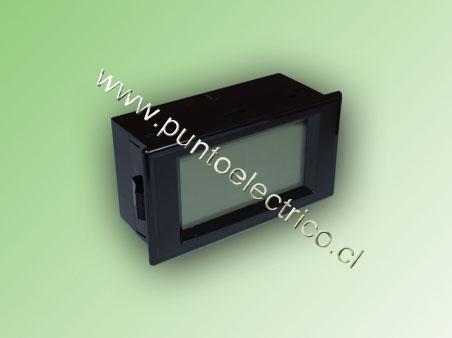 AMPERMETRO DIGITAL 5Amp. 79x43x24mm /220VAC