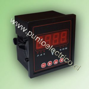 VOLMETRO DIGITAL 0-500 VAC. 1 FASE 72x72mm