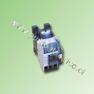 CONTACTOR TRIPOLAR DACO 9 Amp. BOBINA 240VAC 1NA+1NC