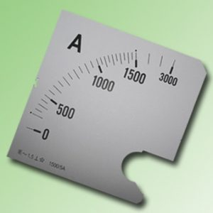 ESCALA AMPERMETRO 0-1500Amp.AC 96x96mm