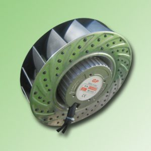 VENTILADOR CENTRIFUGO 48VDC 71W / 600m3/H / 190mm Ø / 3300RPM