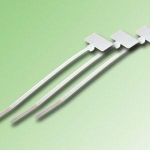 AMARRAS PLASTICAS CON BANDEROLA 200 x 3,5mm