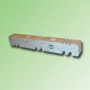SOPORTE PEINE 3 P. 2 x 10mm O 3 P. DE 3 x 5mm ESPESOR COLOR BLANCO