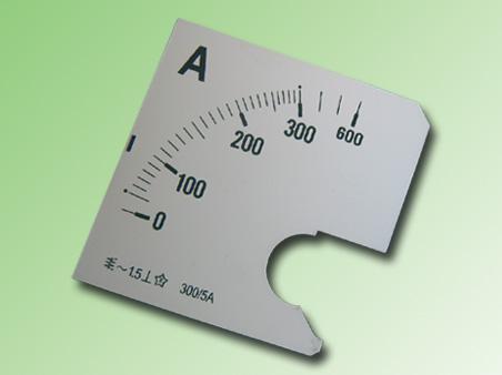 ESCALA AMPERMETRO 0-300Amp.AC 96x96mm