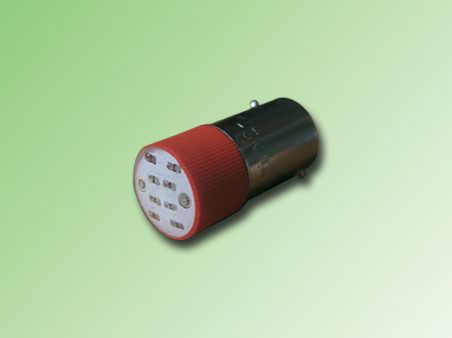LED BA9S COLOR ROJO 24 VAC/DC