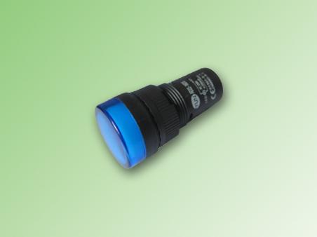 MULTILED COLOR AZUL 16mm. 220V AC/DC