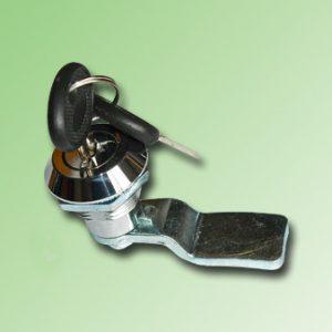 CHAPA CROMADA CON LLAVE 22mm