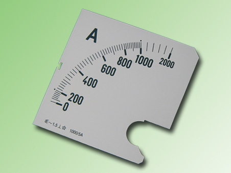 ESCALA AMPERMETRO 0-1000Amp.AC 96x96mm