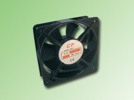 VENTILADOR METALICO 120x120x38mm 12VDC. 177,95m3/H 40,8dB 0,5Amp. 6W. 2400RPM.