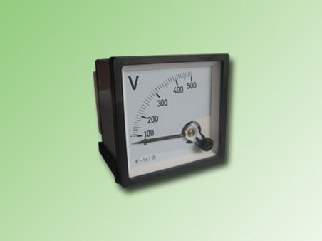 VOLMETRO ANALOGO 0-500VAC 72x72mm