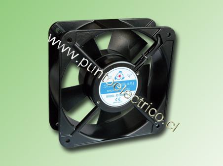 VENTILADOR METALICO 150x150x51mm 230VAC 340m3/H